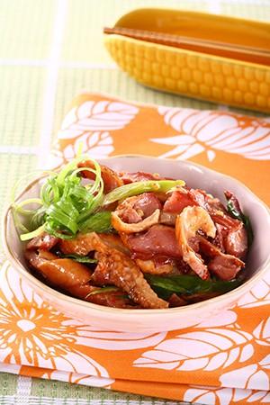 香蒜鴨肉片